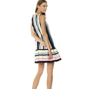 Nicole Miller New York T-Shirt Ruffle Dress
